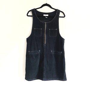Vintage New York Jeans Corduroy Overall Dress